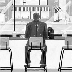 集英社小説すばる2017.3月号 『ハグは十五秒』小野寺史宣著(2017)